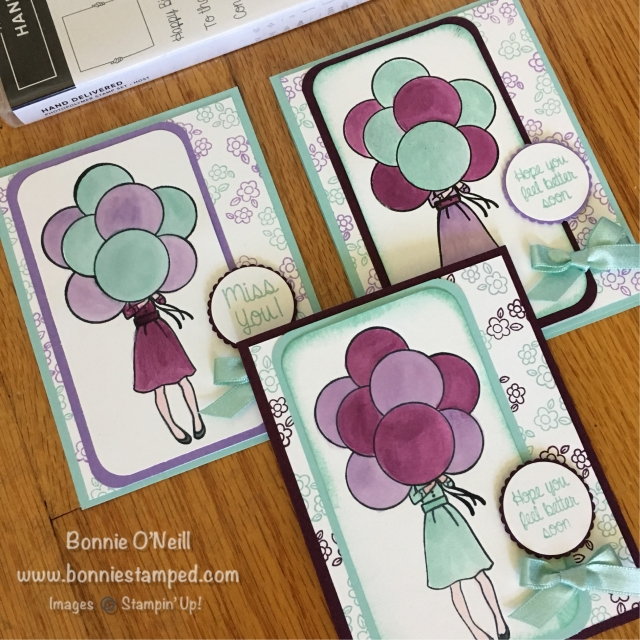 #bonniestamped #stampinup #handdelivered