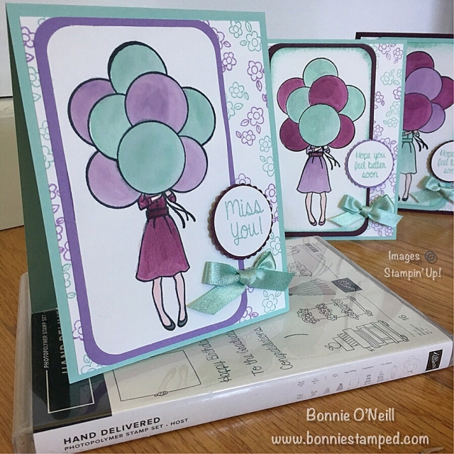 #stampersdozen #bloghop #handdelivered #watercoloring