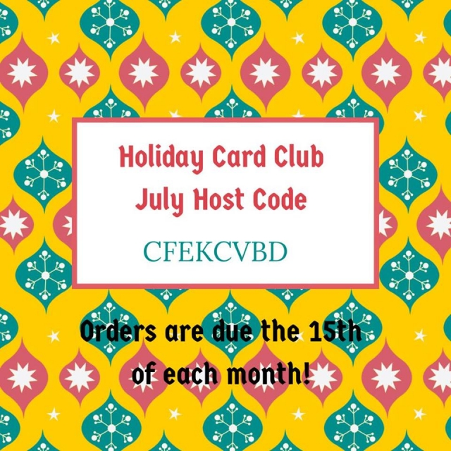 #bonniestamped #holidayclub #jointoday #cardclub