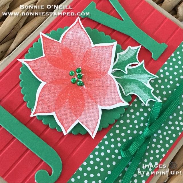 #stylishchristmas #joy #bonneistamped #stampinup #holidaycardclub #stampersdozenbloghop