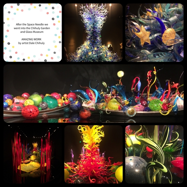 #seattle #chihuly #bonniestamped
