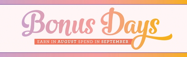 #bonusdays