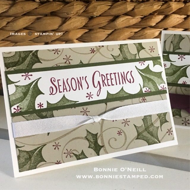 #stylishchristmas #bonniestamped #stampinup #holidaycardclub #holiday #cards