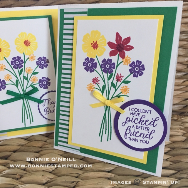 #beautifulbouquet #bonniestamped #stampinup
