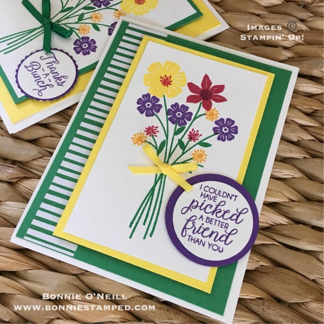 #bonniestamped #stampinup #colorfusersbloghop