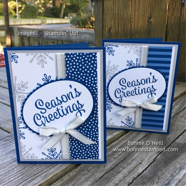 #snowflaksentiments #ovalframelits #ribbon #incolor #bonneistamped