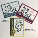 Flourishing Phrases with Stampin' Blends
