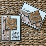 Copper Foil Sheets with Falling for Leaves Bundle