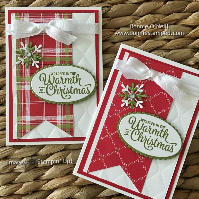 #snowflakesentiments #notecards #holidaycardclub #bonniestamped #stampinup