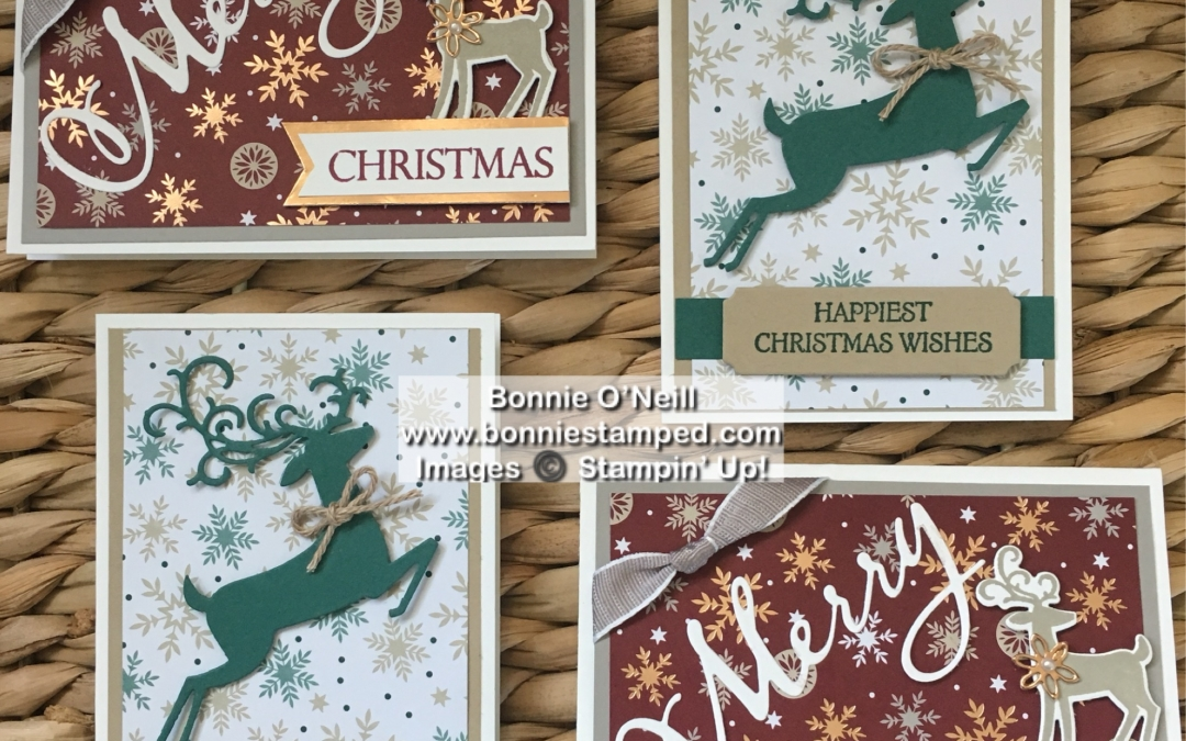 September 2018 Holiday Card Club Note Cards