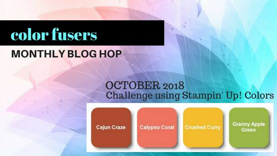 #colorfusersbloghop #bonneistamped #stampinup