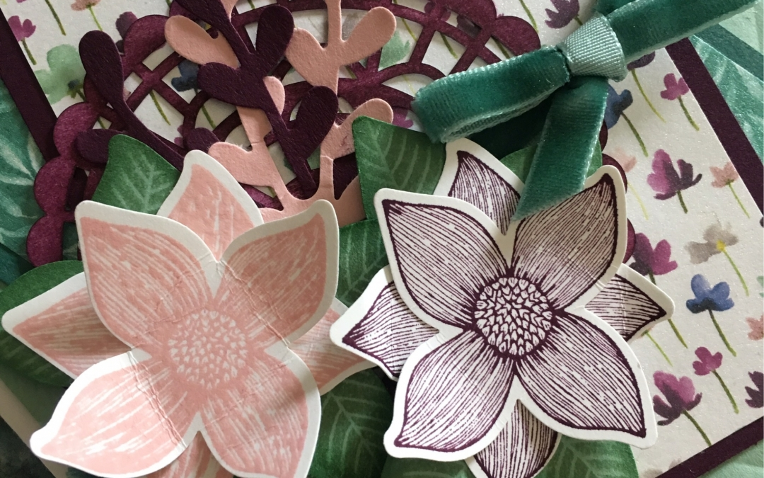Frosted Floral Specialty Designer Series Paper meets Pop of Petals