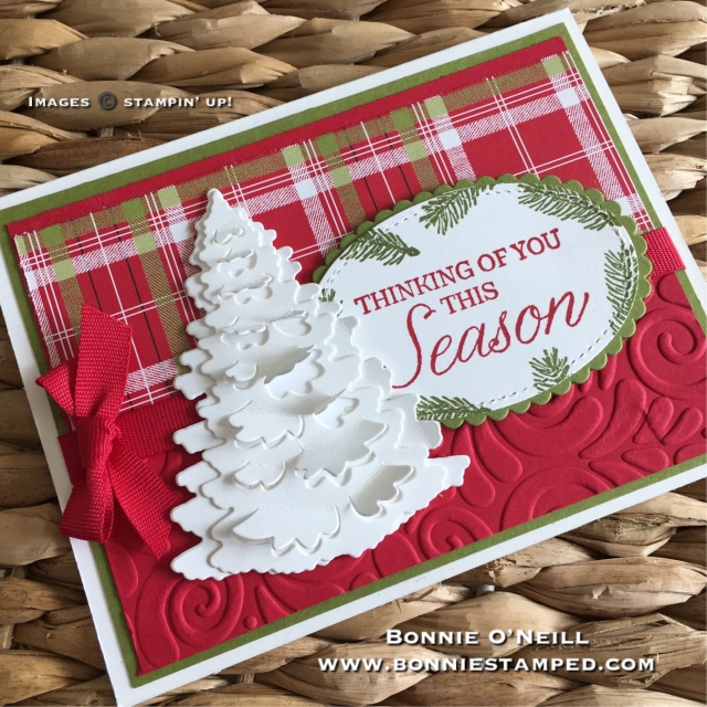 #winterwoods #bundle #bonniestamped #stampinup