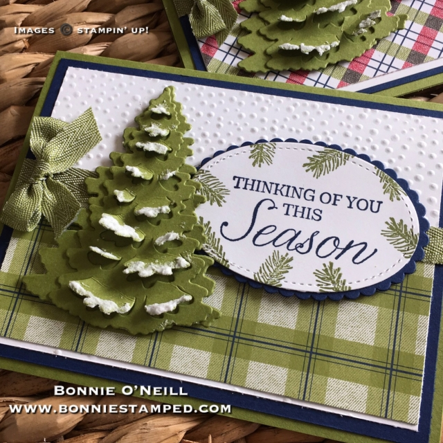 #underthemistletoe #winterwoods #bundle #bonniestamped #stampinup
