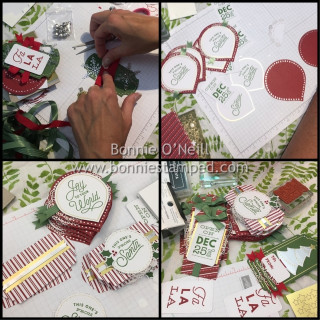 #sincerelysanta #bonniestamped #stampinup #projectkit