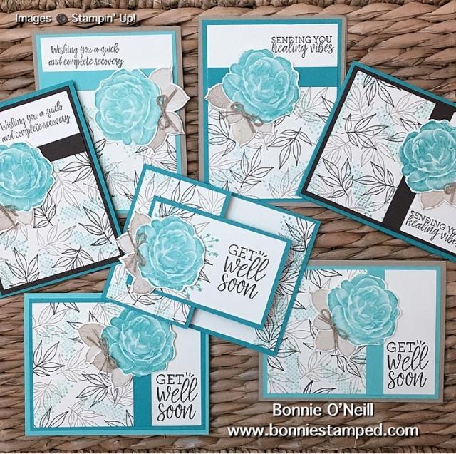 #ColorFusersBlogHop #bonniestamped #stampinup #healinghugs