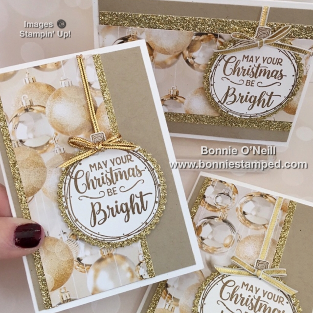 #makingchristmasbright #stamps #bulbbuilderpunch #bonniestamped #stampinuppup