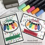 Making Christmas Bright Note Card #2