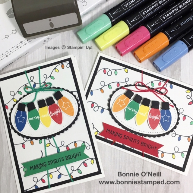 #makingchristmasbright #holidaycardclass #bonniestamped