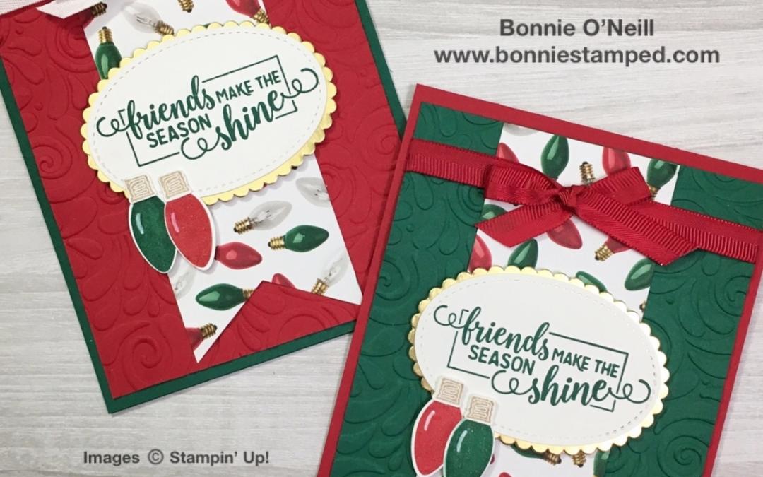 Making Christmas Bright Card #1