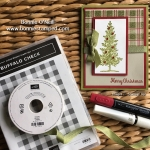 Lovely as Tree Stamp Set with the Buffalo Check Stamp