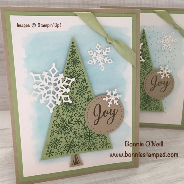 #snowisglistening #bonniestamped #joy #holidaycards