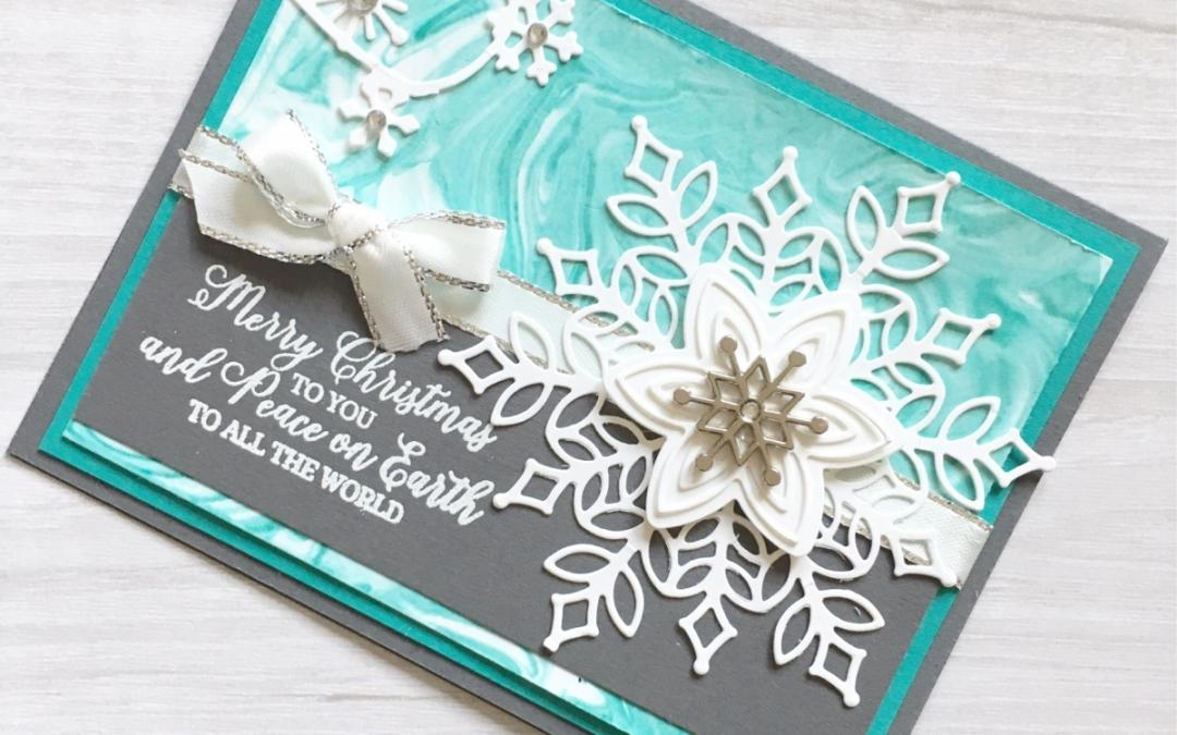 Snowflake Showcase Snowflake Card