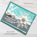 Snowflake Showcase Snowflake Card
