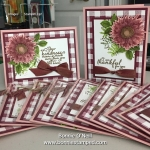 Painted Harvest Thank You Cards
