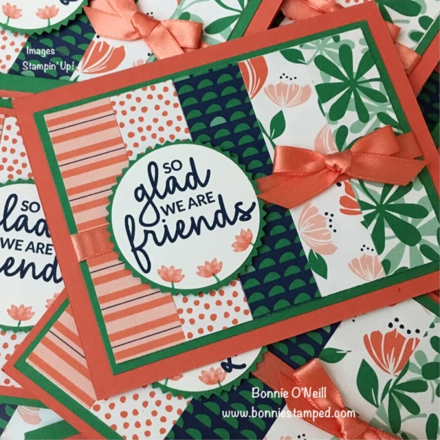 #incrediblelikeyou #occasions2019 #bonniestamped #stampinup #cardswap