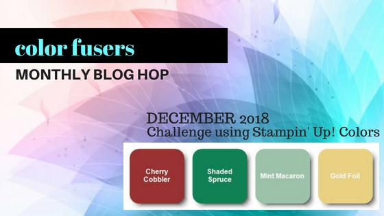 #colorfusersbloghop #bonniestamped #stampinup