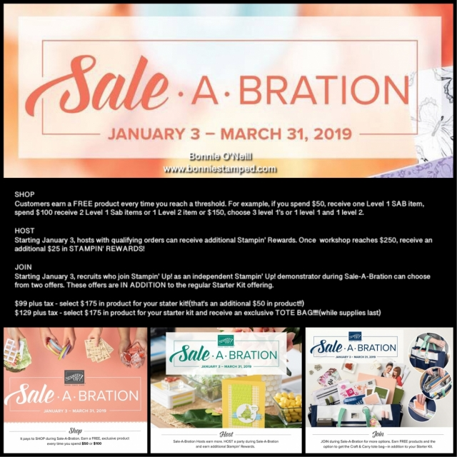 #bonniestamped #saleabration