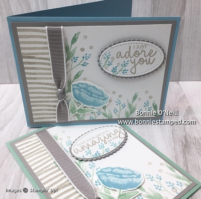 #colorfusersbloghop #bonniestamped #stampinup #incrediblelikeyou #cardswap