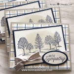 Lovely as a Tree Sympathy Cards