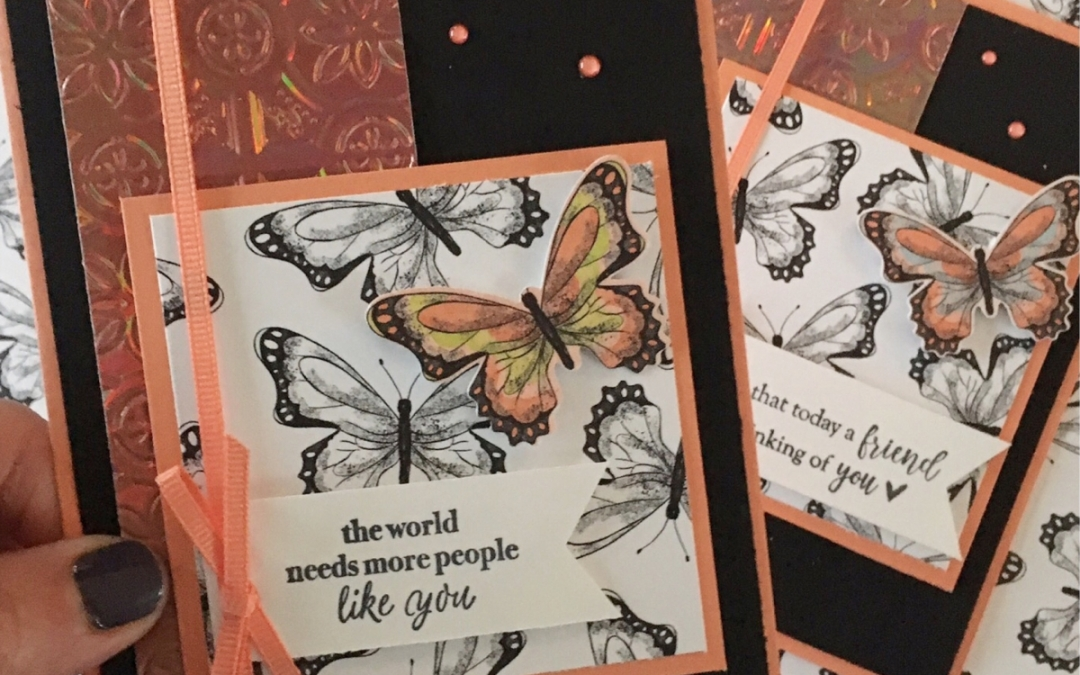 Sale-a-bration Botanical Butterfly Designer Series Paper