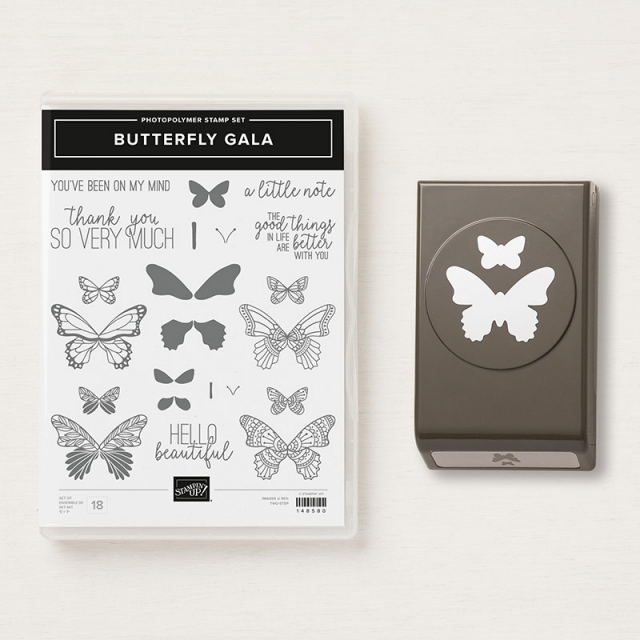 #butterflygala #stampinup #musthave