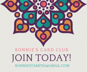 #bonniestamped #cardclub #jointoday