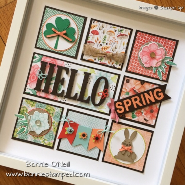 #paintedseasons #saleabration #bonniestamped #framedart #sampler