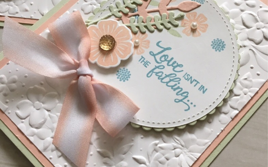 A soft palette with the Beautiful Bouquet Stamp Set