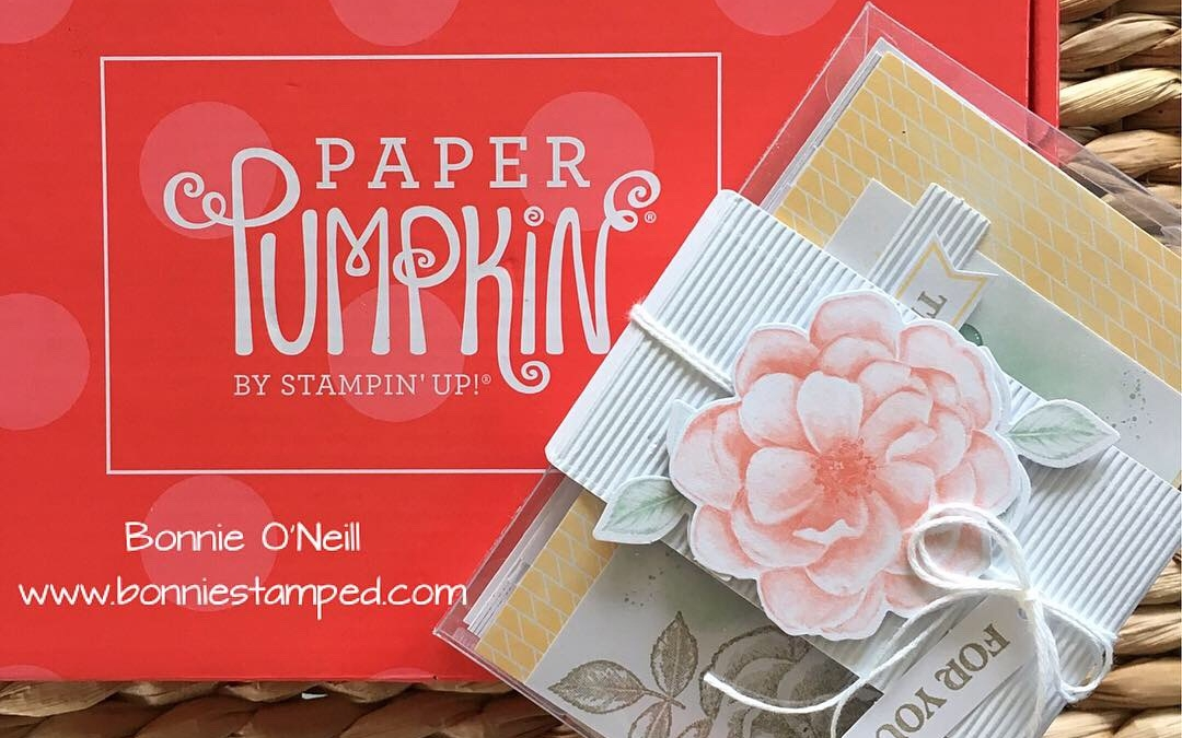 Paper Pumpkin April 2019 Sentimental Rose