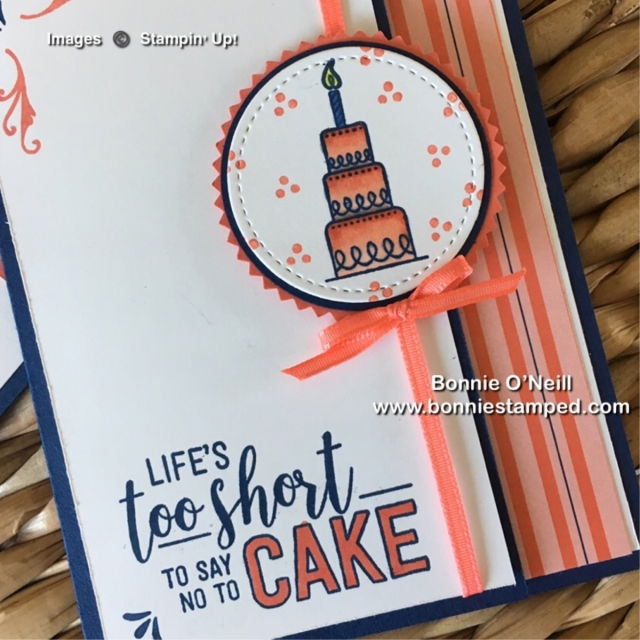 #amazinglife #bonniestamped #stampinup #cardclub #stampinblends