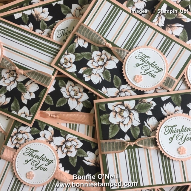 #magnolialane #sneakpeek #dsp #bonniestamped #ribbon #