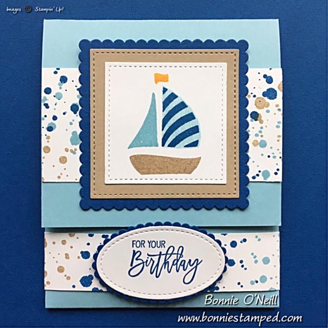 #stampersdozenbloghop #bonniestamped #stampinup #swirlybird #birthdaycheer