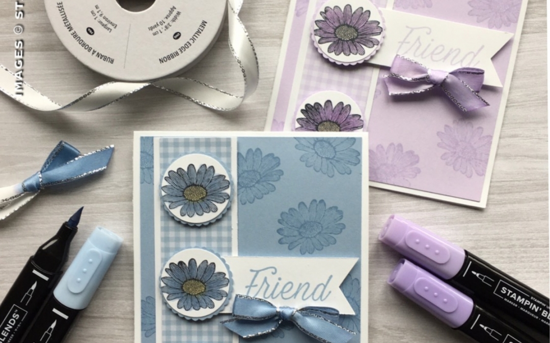 Stampin' Blends meets Daisy Lane