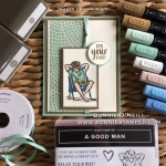 A Good Man with Stampin' Blends