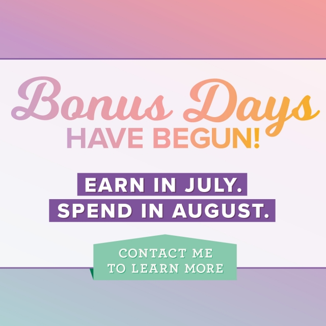 Bonus Days Coupon!