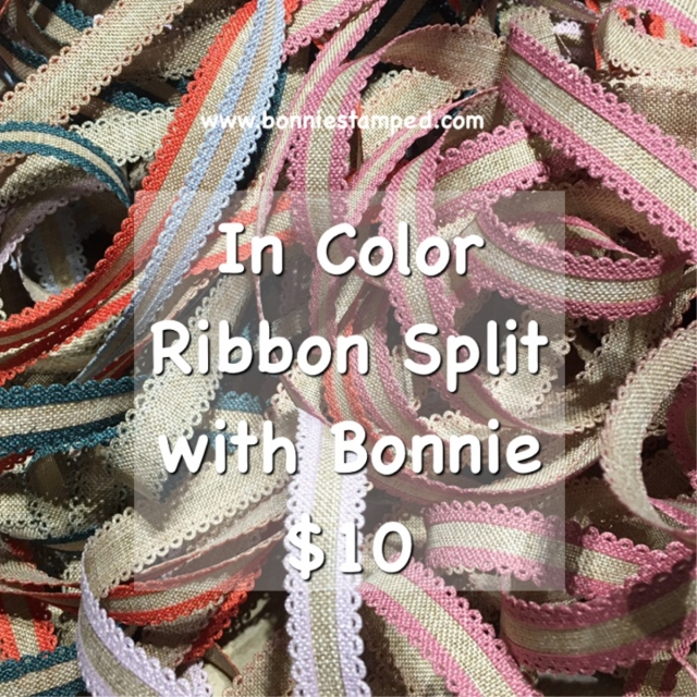 Ribbon Split #3 with Bonnie