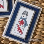 Lots of Cheer Snowman Note Card