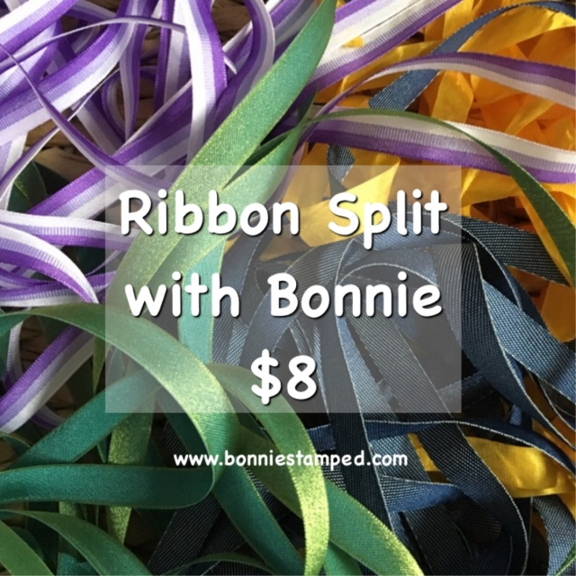 Ribbon Split #1 with Bonnie