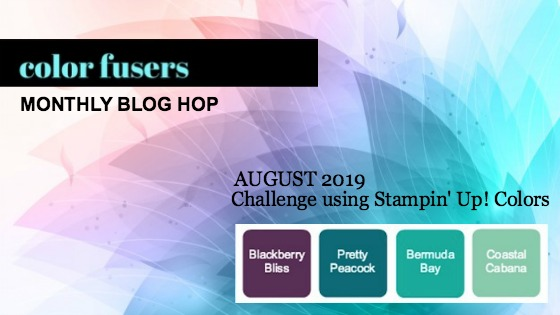 Color Fusers Blog Hop August 2019